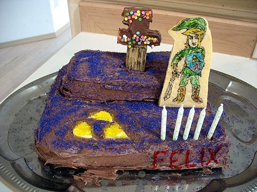 Legend Of Zelda Cake For My 5 Year Old Birthday Boy
